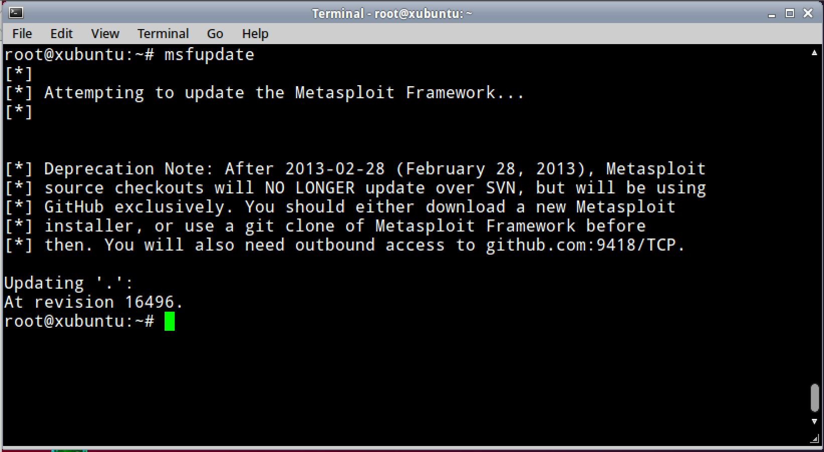 Deprecation Notice: Metasploit source checkouts will NO LONGER